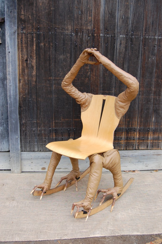 Claw Foot Armchair