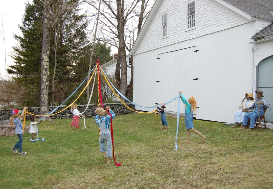 Children Around a Maypole