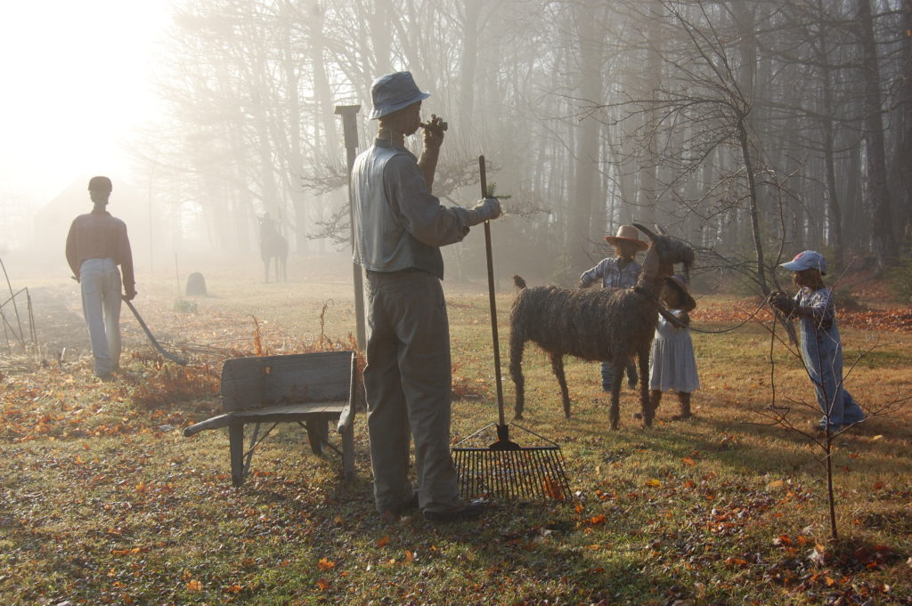 Misty Morning Farm Family